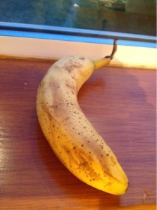Here is an example of a  RIPE banana