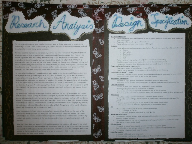 Page 5 - Research Analysis and Design Spec